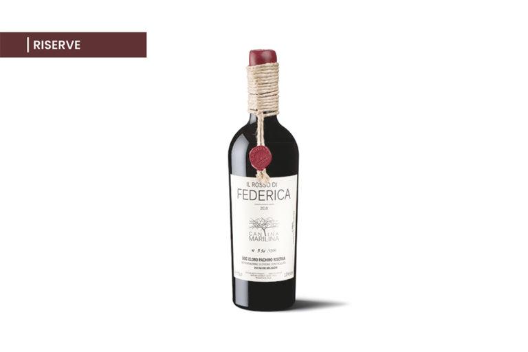 Il Rosso di Federica - Nero d'Avola - Riserve - Vini Cantina Marilina
